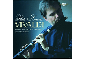 Roberto Lorregian, Mario Folena, Conserto Musico - Vivaldi:Flute Sonatas Complete  - (CD)