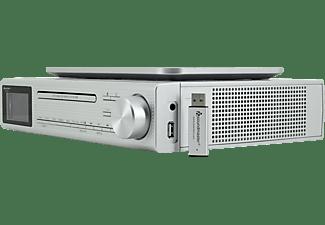 SOUNDMASTER UR2195SI Radio, Digital, DAB+, FM, Silber