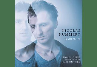 Nicolas Thys, Karl Jannuska, VARIOUS, Kummert Nicolas, Lionel Loueke - La Diversité  - (CD)