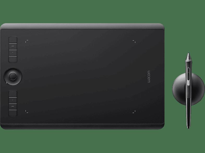 WACOM Intuos Pro medium Grafiktablet, Schwarz