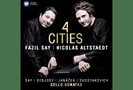 Nicolas Alstaedt - 4 Cities  [CD]