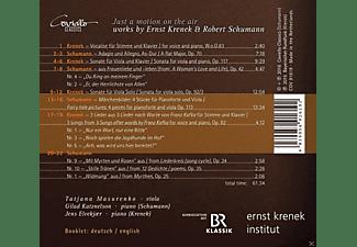 Tatjana Masurenko, Gilad Katznelson, Jens Elvekjaer - Just a Motion on the Air-Werke für Viola & Piano  - (CD)