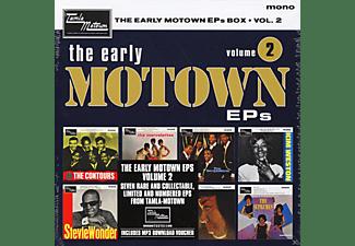 VARIOUS - The Early Motown Eps Vol.2 (7 Inch Boxset)  - (Vinyl)