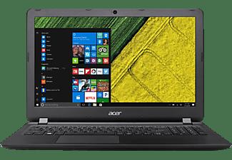 ACER Aspire ES 15, Notebook mit 15,6 Zoll Display, Intel® Core™ i3 Prozessor, 4 GB RAM, 1 TB HDD, HD-Grafik 520, Schwarz