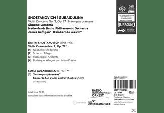 Simone Lamsma - Violinkonzert 1,op.77  & In Tempus Präsen  - (SACD Hybrid)