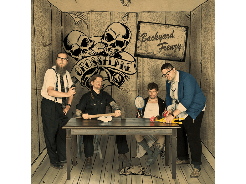 Crossplane - Backyard Frenzy [CD]