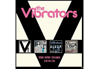 The Vibrators - The Epic Years 1976-78 (4 CD Box Set)  - (CD)