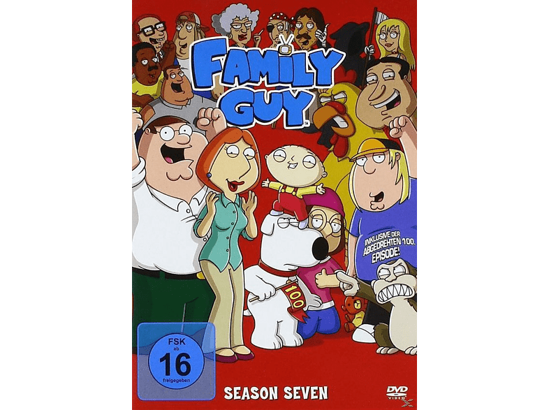 Family Guy - Staffel 7 [DVD]