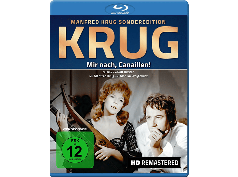 Manfred Krug - Mir nach, Canaillen! (HD Remastered) [Blu-ray]