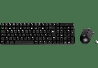VIVANCO  Wireless, Tastatur + Maus, Schwarz