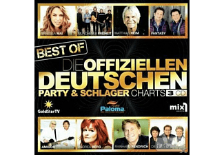 VARIOUS - Die offiziellen Party-und Schlagercharts - Best Of Box-Set  - (CD)