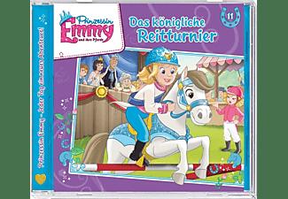 - Prinzessin Emmy 11: Das königliche Reittunier  - (CD)