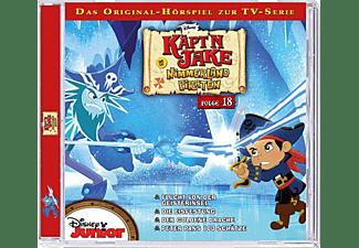 - Jake und die Nimmerland-Piraten 18: Flucht von der Geisterinsel / Die Eisfestung  - (CD)