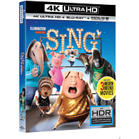 Sing [4K Ultra HD Blu-ray + Blu-ray]