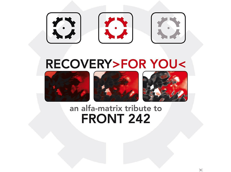 VARIOUS - Recovery <gt/>For You<lt/> A Tribute To Front 242 [CD]