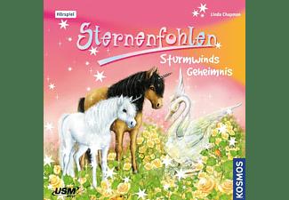 Sternenfohlen - Sternenfohlen 008 - Sturmwinds Geheimnis  - (CD)