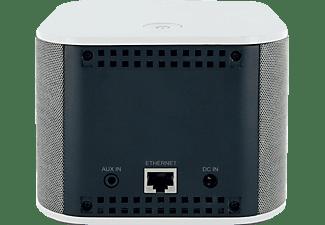 SCHWAIGER HAS110 WiFi Lautsprecher App-steuerbar, W-LAN Schnittstelle, Anthazit/Weiß