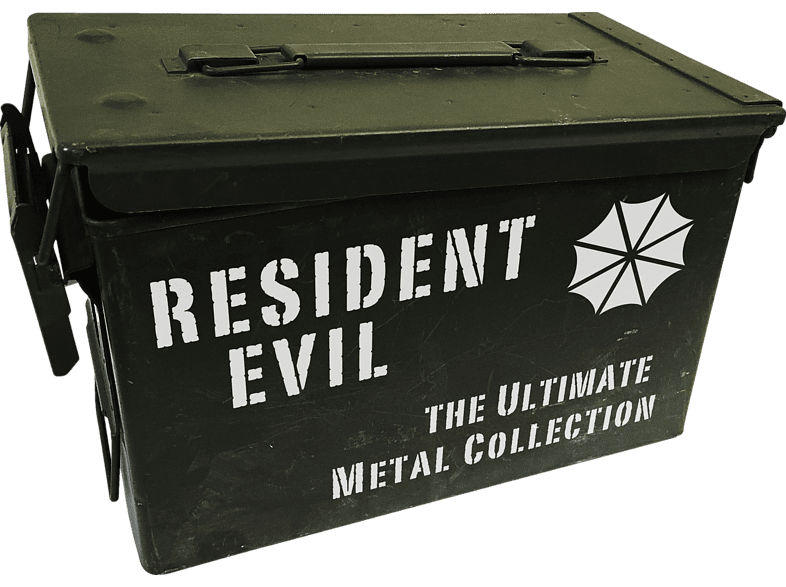 Resident Evil – Ultimate Metal Collection (Exklusiv bei Media Markt - Limitiert auf 250 Exemplare) [Blu-ray]