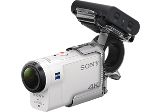SONY FDR-X3000RFDI 4K + RM-LVR3 + AKA-FGP1 Zeiss Action Cam 4K, Full HD, HD, WLAN