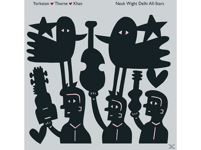 Yorkston / Thorne / Khan - Neuk Wight Delhi All Stars (2LP+MP3) [LP + Download]