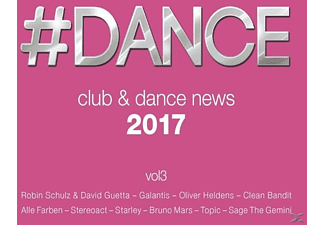 VARIOUS - #Dance - Clubnews 2017  - (CD)
