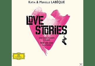 Katia Labeque, Marielle Labeque, Raphael Seguinier, Gonzalo Grau - Love Stories  - (CD)