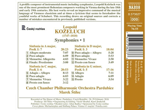 Marek/czech Chamber Po Stilec - Sinfonien Vol.1  - (CD)