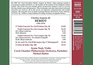 Tsuji,Ayana/Halasz,Michael/Czech Chamber PO - Violinkonzerte 4,6 & 7/+  - (CD)