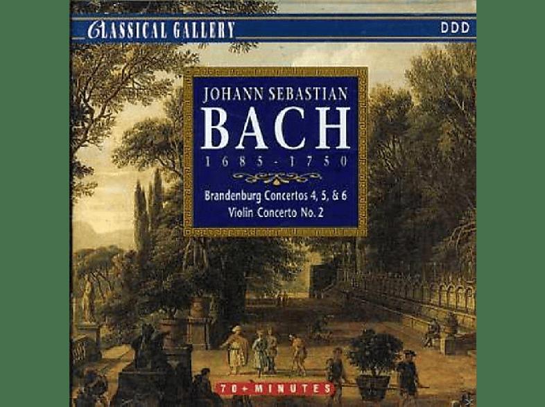 VARIOUS - Bach: Brandenburg Concertos Nos. 4, 5 & 6, Violin Concerto No. 2 [CD]