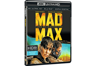 Mad Max: Furia en la Carretera - 4K Ultra HD + Blu-Ray + Copia Digital