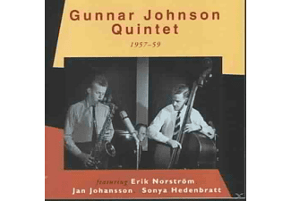 Gunnat Johnson, Gunnar Quintet Johnson - 1957-59  - (CD)