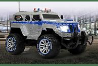 JAMARA Polizei Panzerwagen 1:12 27MHz Ferngesteuertes Fahrzeug, Grau/Blau
