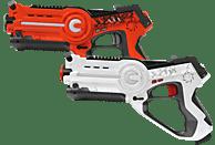 JAMARA Impulse Laser Orange/Weiß Battle-Set, Orange/Weiß