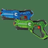 JAMARA Impulse Laser Blau/Grün Battle-Set, Blau/Gün