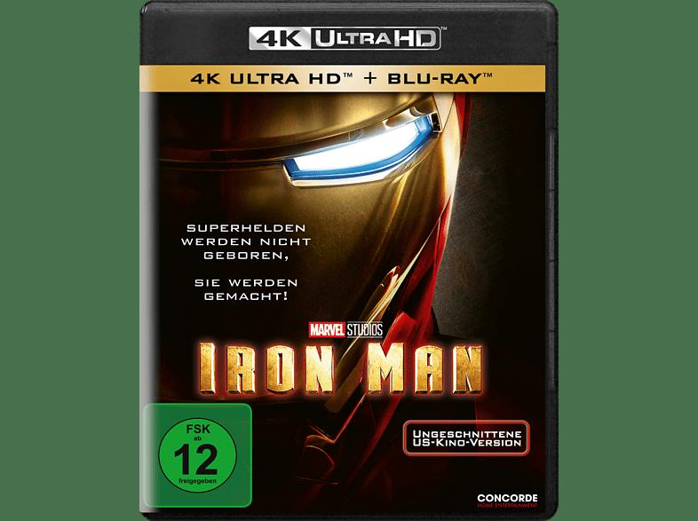 Iron Man [4K Ultra HD Blu-ray + Blu-ray]