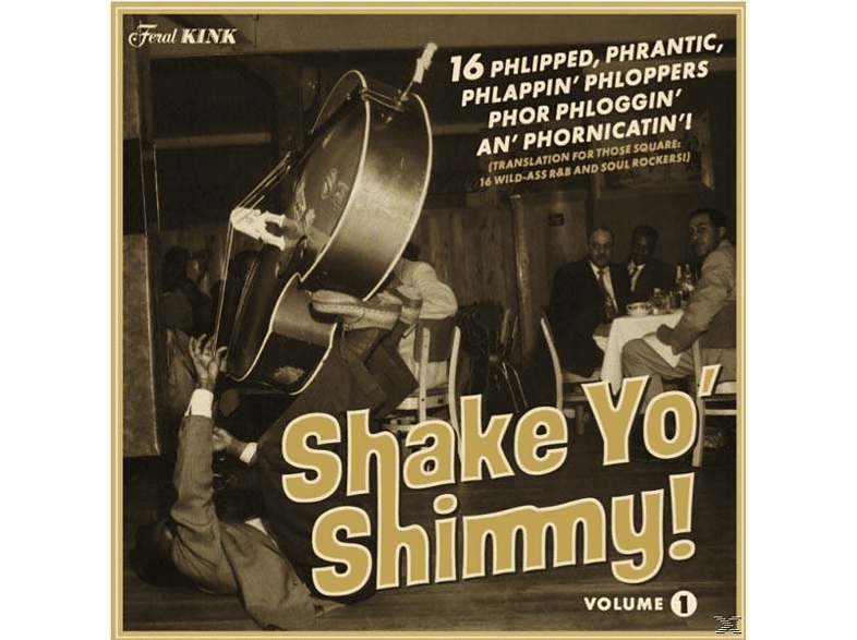 VARIOUS - Shake Yo' Shimmy Vol.1 [Vinyl]