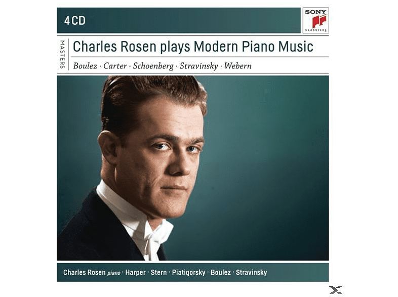 Charles Rosen - Charles Rosen Plays Modern Piano Music [CD]