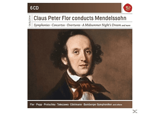 Claus Peter Flor - Claus Peter Flor Conducts Mendelssohn  - (CD)