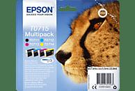 EPSON Original Tintenpatrone Gepard mehrfarbig (C13T07154012)