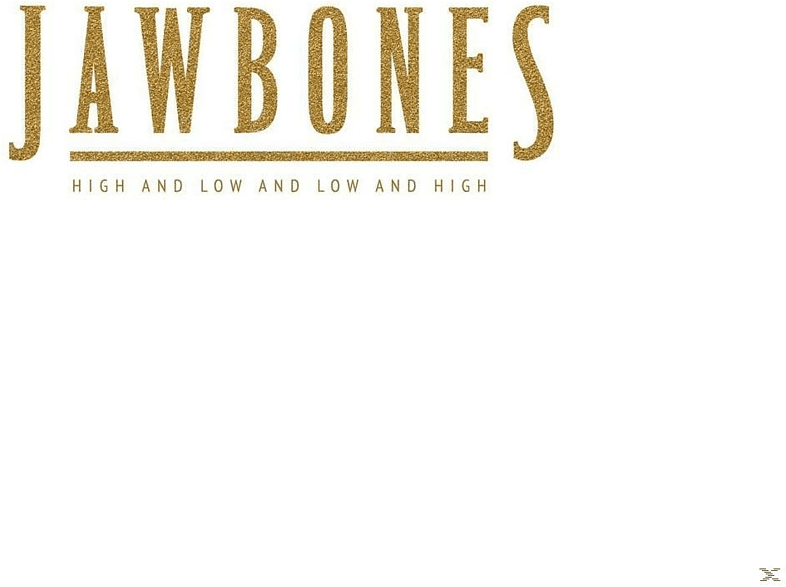 Jawbones - High And Low And Low And High [CD]