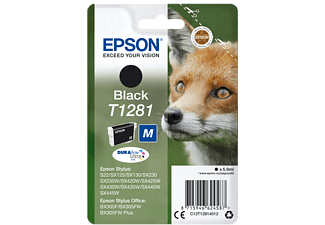 EPSON Original Tintenpatrone Schwarz (C13T12814012)
