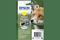 EPSON Original Tintenpatrone Fuchs Gelb (C13T12844012)