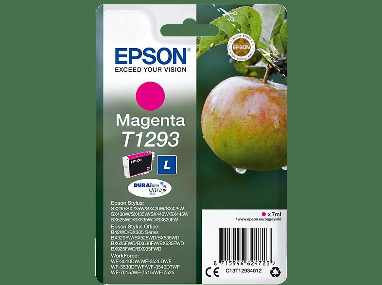 EPSON Original Tintenpatrone Apfel Magenta (C13T12934012)