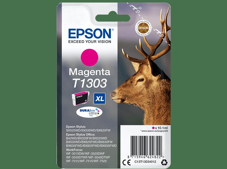 EPSON Original Tintenpatrone Hirsch Magenta (C13T13034012)