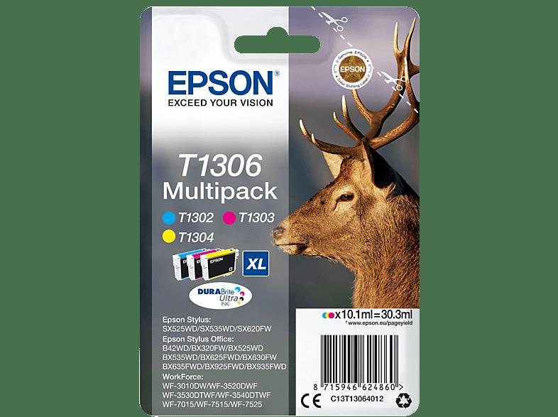 EPSON Original Tintenpatrone Elch mehrfarbig (C13T13064012)