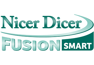 GENIUS 33856 Nicer Dicer Fusion Smart Messereinsatz Mintgrün