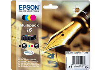EPSON Original Tintenpatrone mehrfarbig (C13T16264012)