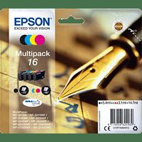 EPSON Original Tintenpatrone Füller mehrfarbig (C13T16264012)
