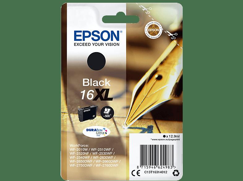 EPSON Original Tintenpatrone Füller Schwarz (C13T16314012)