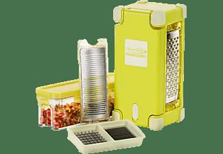 GENIUS 33840 Nicer Dicer Magic Cube Gourmet Hobel-Set Gelb